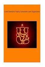 Lord Ganesha Yearly Calendars Cum Organizers
