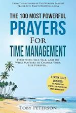 Prayer the 100 Most Powerful Prayers for Time Management 2 Amazing Bonus Books to Pray for Stress & Anger Management