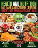 Health & Nutrition Fat, Carb & Calorie Counter, Weight Loss & Diabetic Diet Data UK