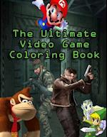 The Ultimate Video Game Coloring Book