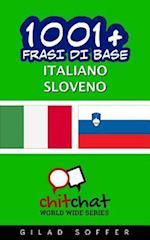 1001+ Frasi Di Base Italiano - Sloveno