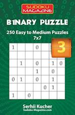 Binary Puzzle - 250 Easy to Medium Puzzles 7x7