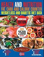 Health and Nutrition Fat, Carb and Calorie Counter Weightloss and Diabetic Diet Data