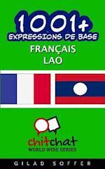 1001+ Expressions de Base Francais - Lao