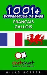 1001+ Expressions de Base Francais - Gallois