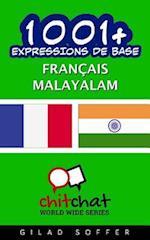 1001+ Expressions de Base Francais - Malayalam