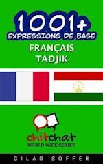 1001+ Expressions de Base Francais - Tadjik