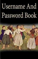 Username and Password Book