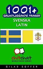 1001+ Grundlaggande Fraser Svenska - Latin