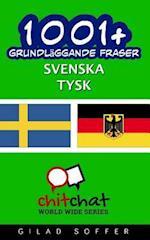 1001+ Grundlaggande Fraser Svenska - Tysk