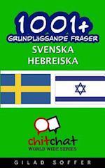 1001+ Grundlaggande Fraser Svenska - Hebreiska