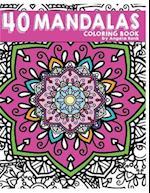 40 Mandalas Coloring Book