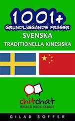 1001+ Grundlaggande Fraser Svenska - Traditionella Kinesiska