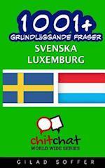 1001+ Grundlaggande Fraser Svenska - Luxemburg