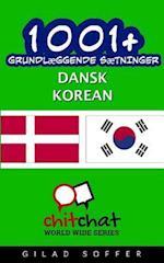 1001+ Grundlaeggende Saetninger Dansk - Korean