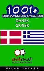 1001+ Grundlaeggende Saetninger Dansk - Graesk