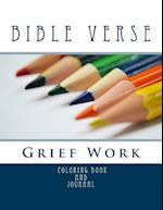 Bible Verse Grief Work Coloring Book and Journal