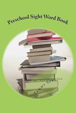 Preschool Sight Word Book