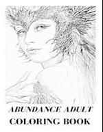 Abundance Adult Coloring Book