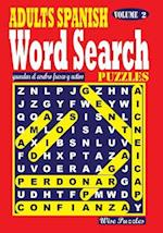 Adults Spanish Word Search Puzzles, Vol. 2