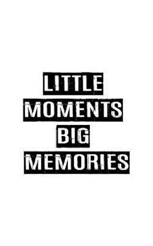 Little Moment Big Memories, Graph Paper Notebook, Small Journal Series, 64p, 5x8 af Mind Publisher