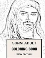 Sunni Adult Coloring Book