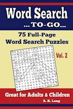 Word Search To-Go, Volume 2