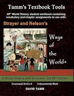 Strayer's Ways of the World+ 3rd Edition Student Workbook for AP* World History