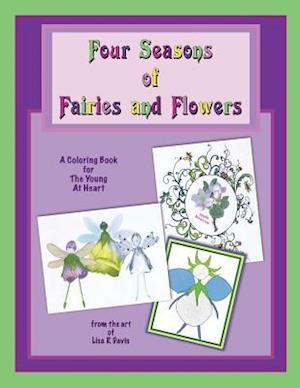Bog, paperback Four Seasons of Fairies and Flowers af Lisa R. Davis