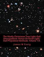 The Woolly Christmas Tree Light-Sail Smorgasbord. Notes on Novel Light-Sail Propulsion Methods. Volume 19.