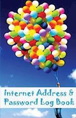 Internet Address and Password Book
