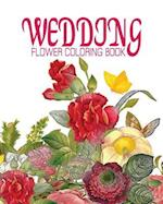 Wedding Flower Coloring Book