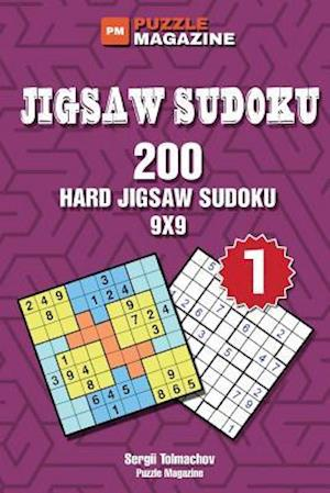Jigsaw Sudoku - 200 Hard Puzzles 9x9 (Volume 1) af Sergii Tolmachov
