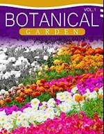Botanical Garden Grayscale Coloring Books for Beginners Volume 1