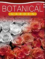 Botanical Garden Grayscale Coloring Books for Beginners Volume 3