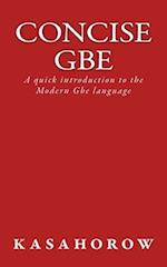 Concise GBE
