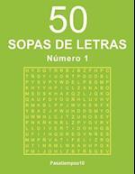 50 Sopas de Letras - N. 1