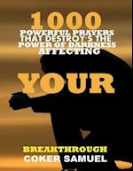 1000 Powerful Prayers That Destroys the Power of Darkness Affecting Your Breakthrough