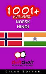1001+ Ovelser Norsk - Hindi