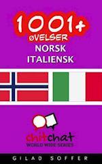 1001+ Ovelser Norsk - Italiensk
