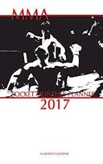Mma Pocket Monthly Planner 2017
