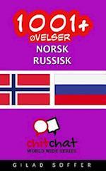 1001+ Ovelser Norsk - Russisk
