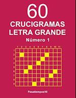 60 Crucigramas Letra Grande - N. 1