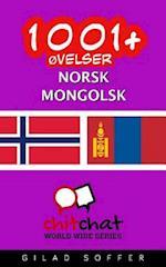 1001+ Ovelser Norsk - Mongolsk