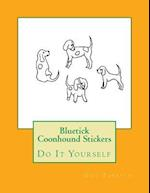 Bluetick Coonhound Stickers