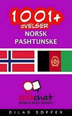 1001+ Ovelser Norsk - Pashtunske