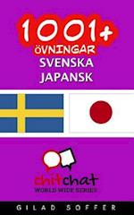 1001+ Ovningar Svenska - Japansk
