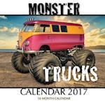 Monster Trucks Calendar 2017