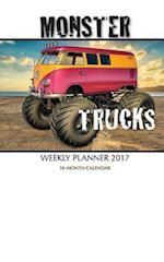 Monster Trucks Weekly Planner 2017