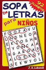 Sopa de Letras Para Ninos
